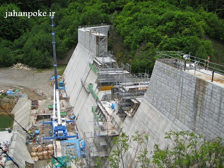 کاربرد پوکه معدنی در ساخت سد