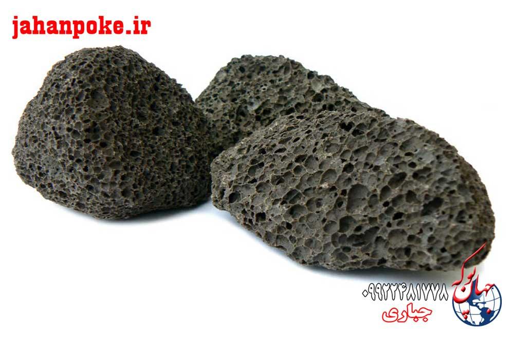 سبک دانه طبیعی یا پوکه معدنی