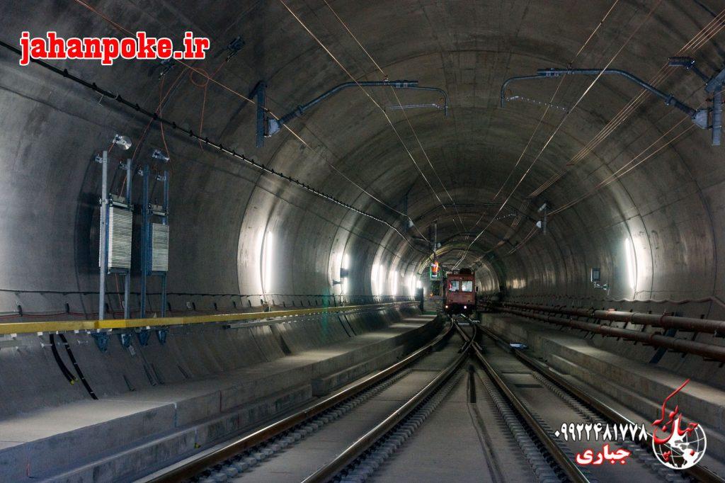 کاربرد پوکه معدنی در ساخت تونل